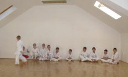Karate klub Sarvaš - polaganje za žuti pojas