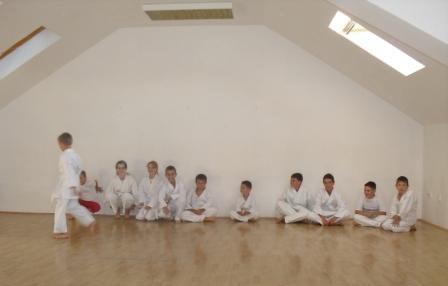 Photo of Karate klub Sarvaš – polaganje za žuti pojas