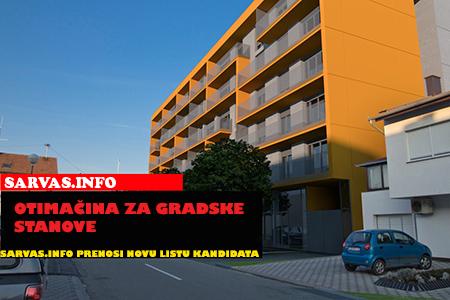 Photo of Odluka o usvajanju Prijedloga Liste kandidata za davanje gradskih stanova u najam 2013