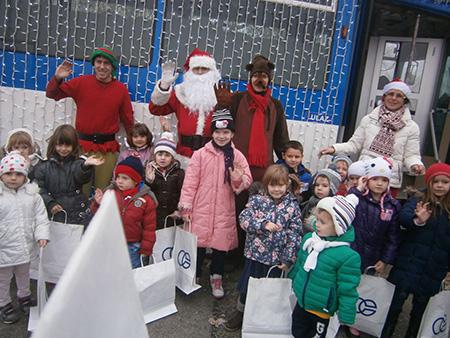 Photo of DV Ribice Sarvaš u Božićnom tramvaju