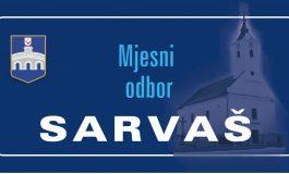 U prigradskom se Sarvašu ništa ne radi.