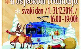 Božićni tramvaj - božićna bajka u osječkom tramvaju 2014.