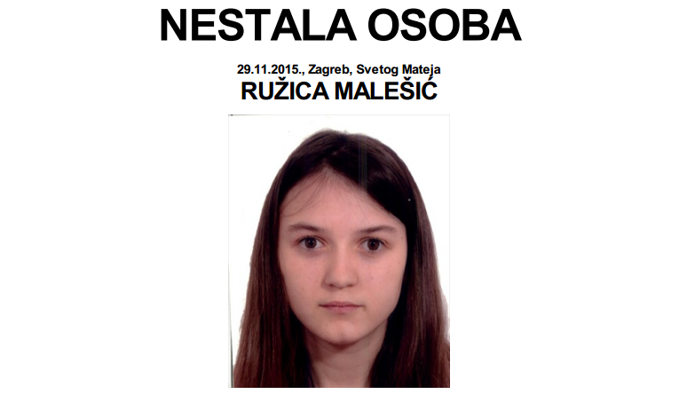 Photo of NESTALI: RUŽICA MALEŠIĆ