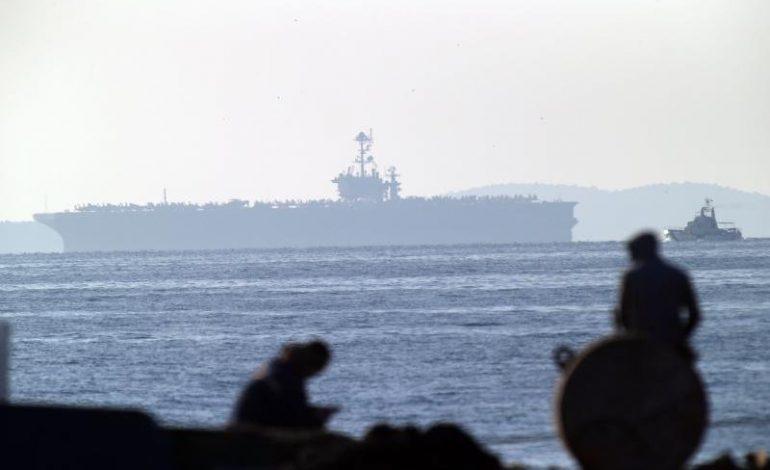 Američki nuklearni nosač zrakoplova uplovio u splitsku luku