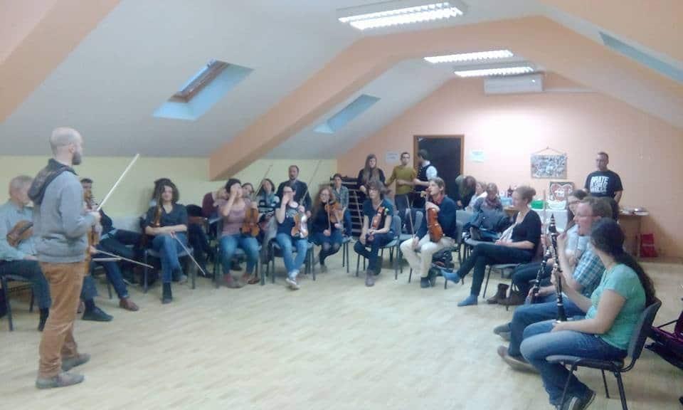 Photo of KUD Sarvaš ugostio 30-ak studenata muzikologije iz Beča