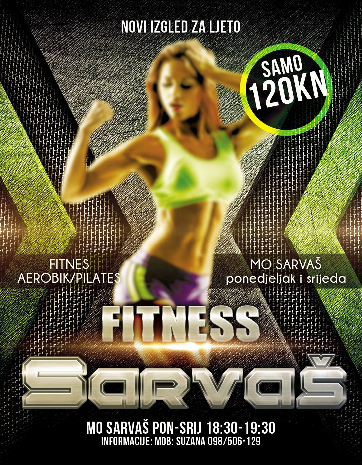 Photo of NOVO: FITNESS SARVAŠ