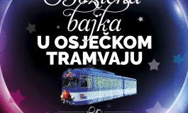 Božićna bajka u osječkom tramvaju