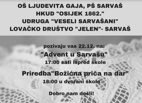Photo of ADVENT U SARVAŠU
