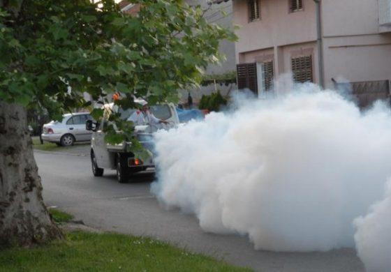 Tretiranje komaraca na području grada i prigradskih naselja
